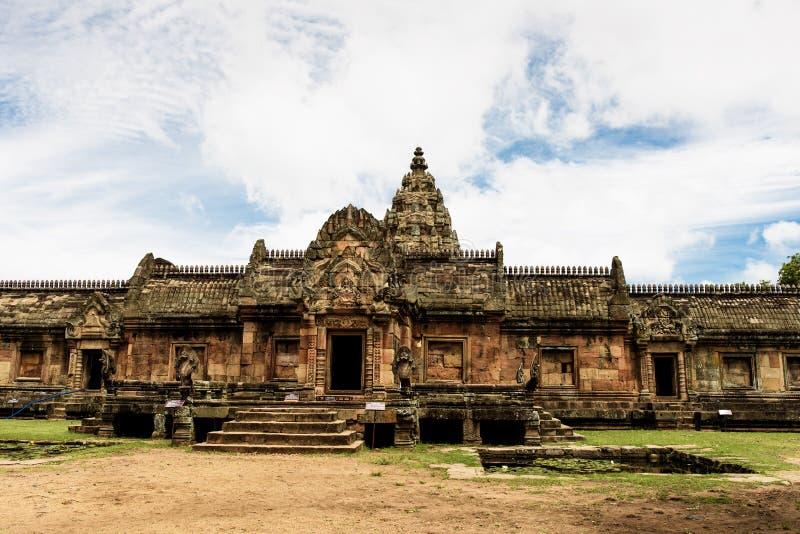 Prasat Phanom schellte historischen Park, einen Khmer-ähnlichen Tempelkomplex, der im 10. -13th Jahrhundert errichtet wurde lizenzfreie stockbilder