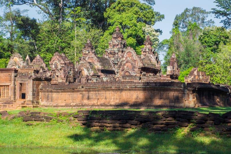 Prasat Ta Prohm i Siem Reap royaltyfria foton