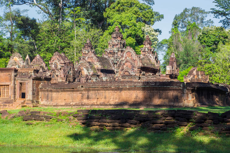 Prasat Ta Prohm in Siem oogst royalty-vrije stock foto's