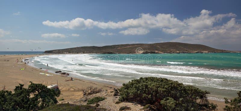 prasonisi Ρόδος νησιών ακρωτηρίων στοκ εικόνα με δικαίωμα ελεύθερης χρήσης