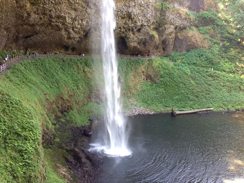 A prata cai Salem Oregon fotografia de stock