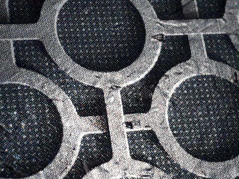 A prata circunda a textura fotos de stock royalty free