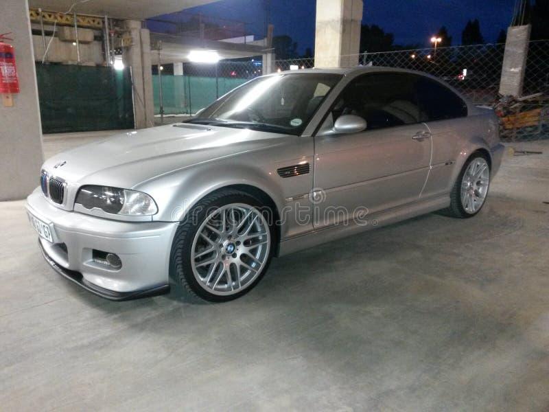 Prata do M3 E46 BMW fotos de stock