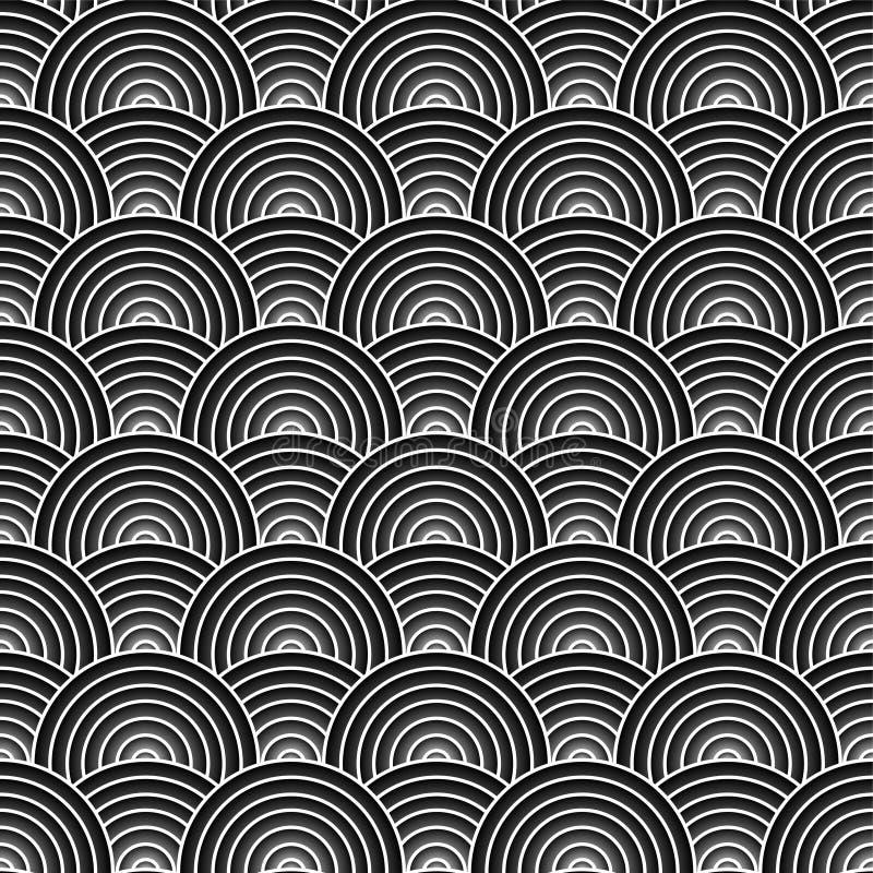 Prata do weave de Artex ilustração do vetor