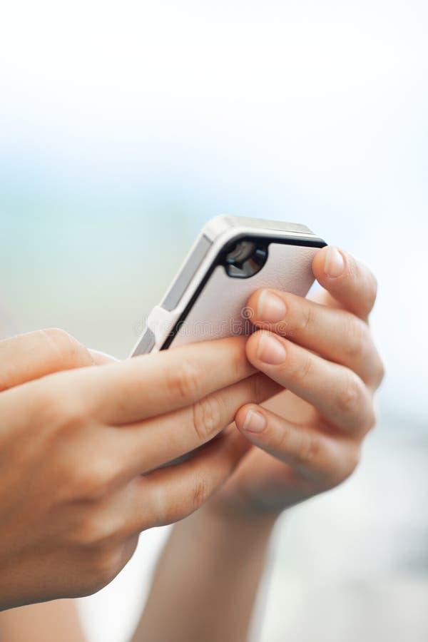 prata mobil royaltyfria foton