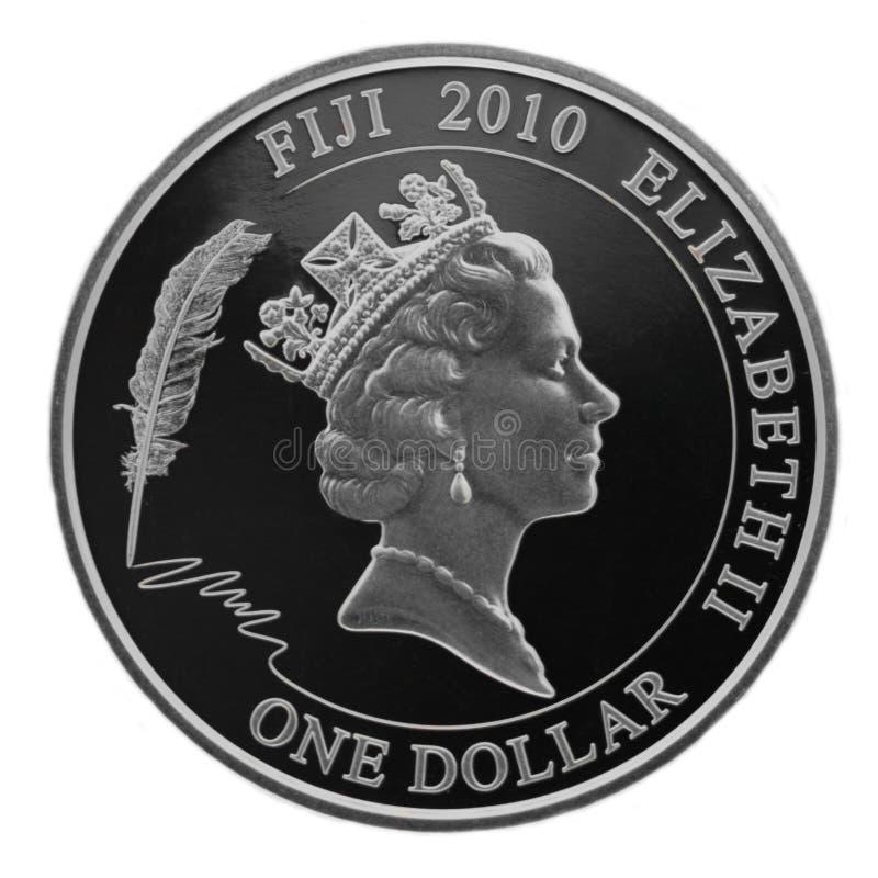 Prata um dólar foto de stock royalty free