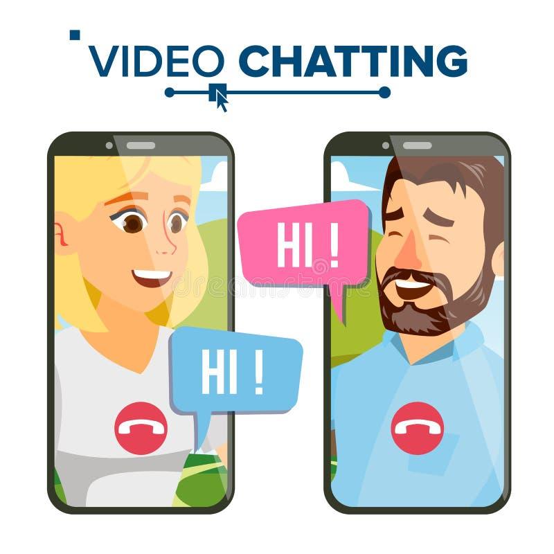 Prata vektorn Anförandesymbol Nätverksdiskussion Smartphone Isolerad plan tecknad filmillustration royaltyfri illustrationer
