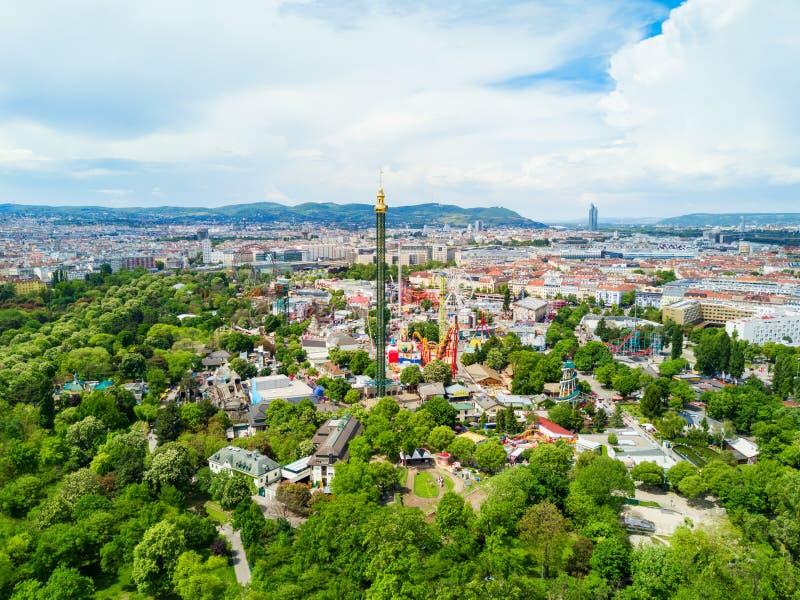 Prater公园在维也纳 图库摄影