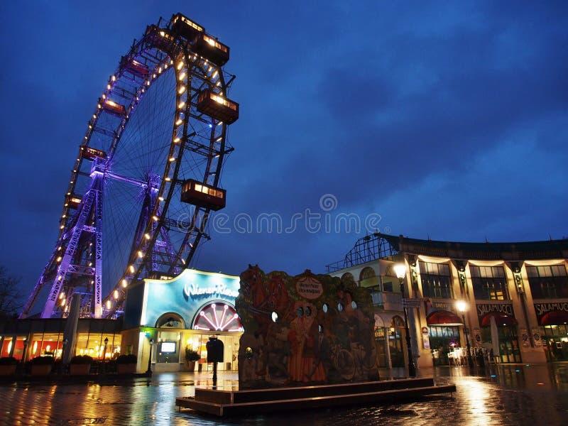 Prater Ferris Wheel stockbilder