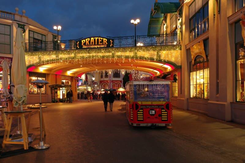 Prater - Viena, Áustria fotos de stock royalty free