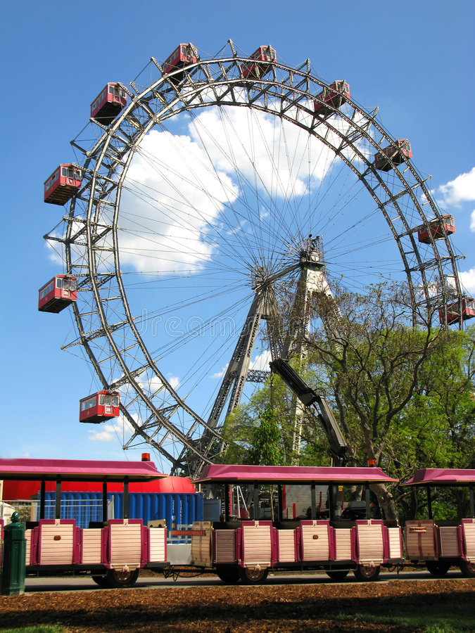 Prater Vienne images stock