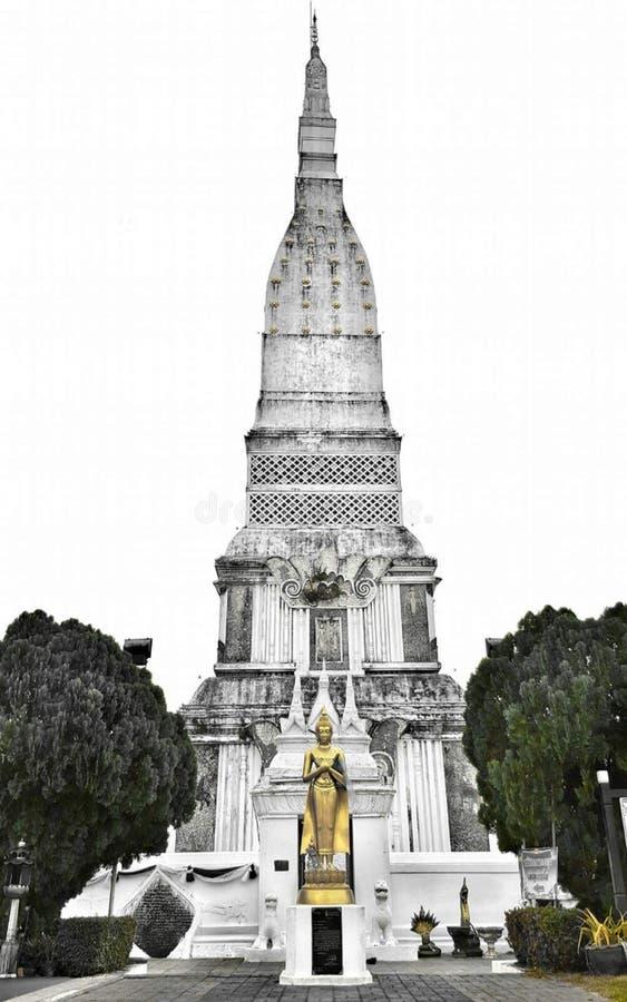 Prathat Tha u tain royaltyfria bilder