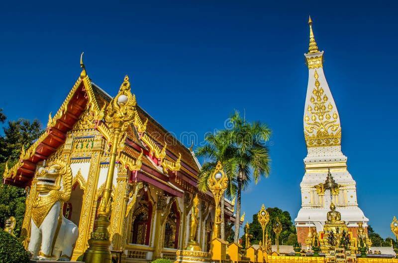 Prathatphanom Pagoda stock image