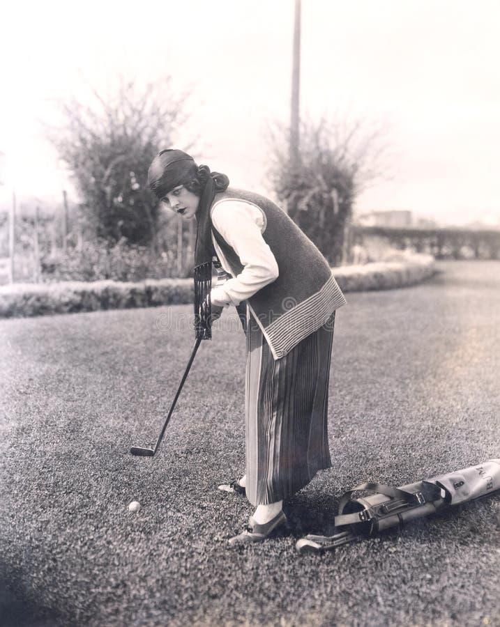 Pratica di golf immagini stock