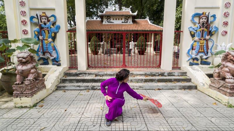 Pratica di Tai Chi immagini stock libere da diritti
