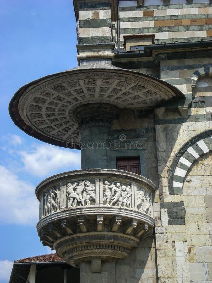 Prato (Тоскана, Италия) - собор стоковое фото rf