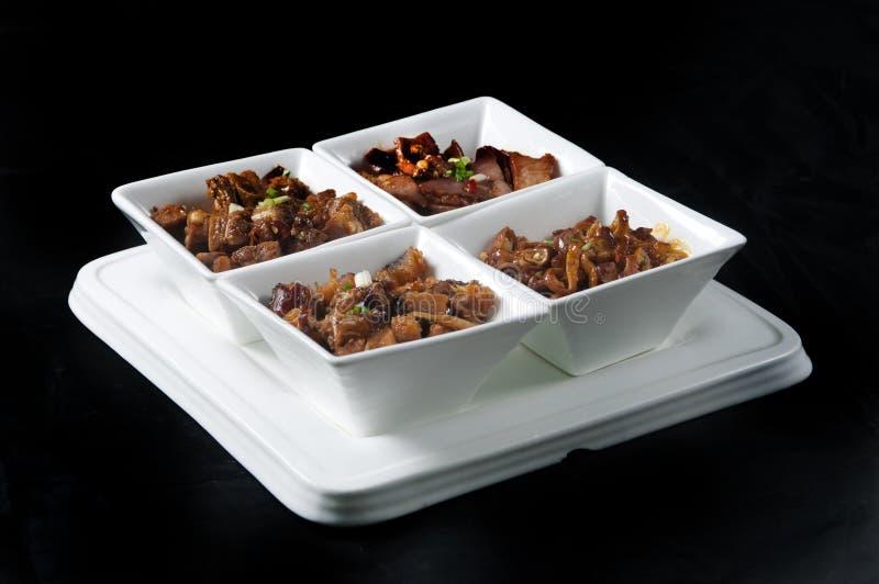 Prato chinês do alimento fotografia de stock royalty free