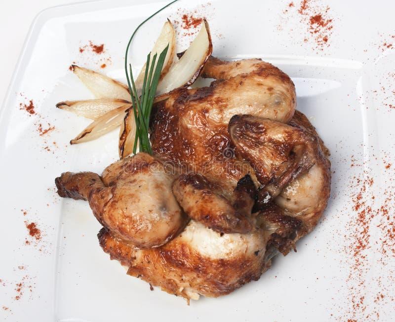 Prato da galinha fritada imagens de stock royalty free