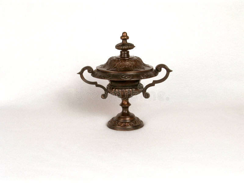 Prato de bronze foto de stock