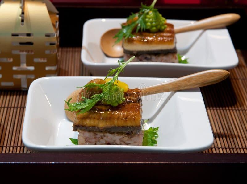 Prato de peixes chinês fotografia de stock