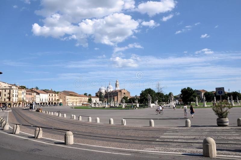 Prato Della Valle, Padua Royalty Free Stock Images