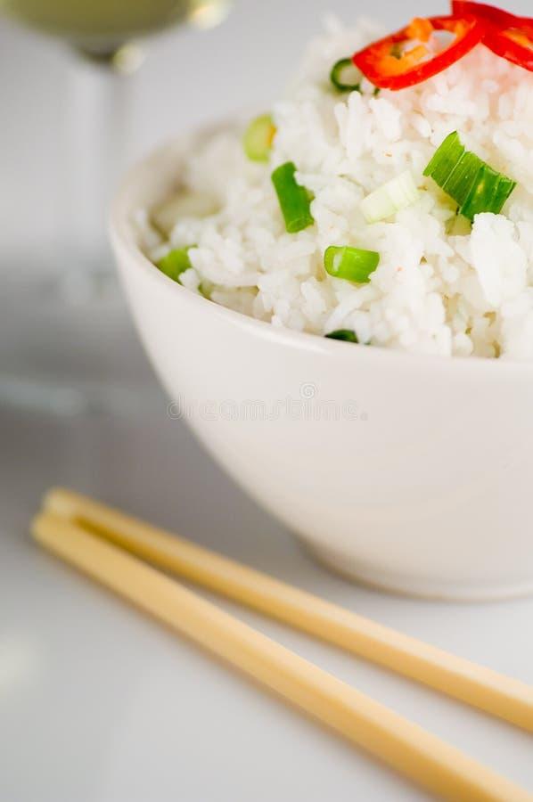 Prato do arroz imagem de stock