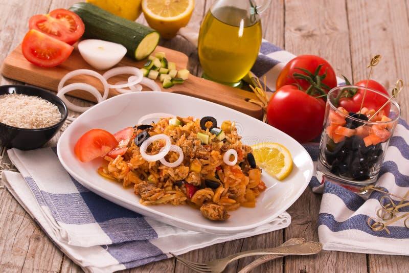 Prato do arroz dos girosc?pios imagens de stock royalty free