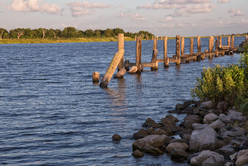 Prato dorato, Luisiana fotografie stock libere da diritti