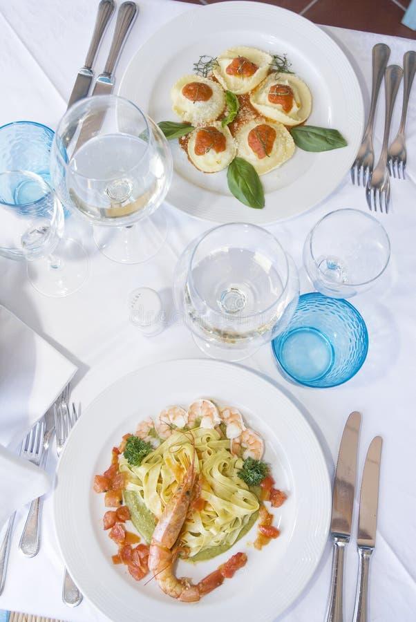Prato italiano imagem de stock