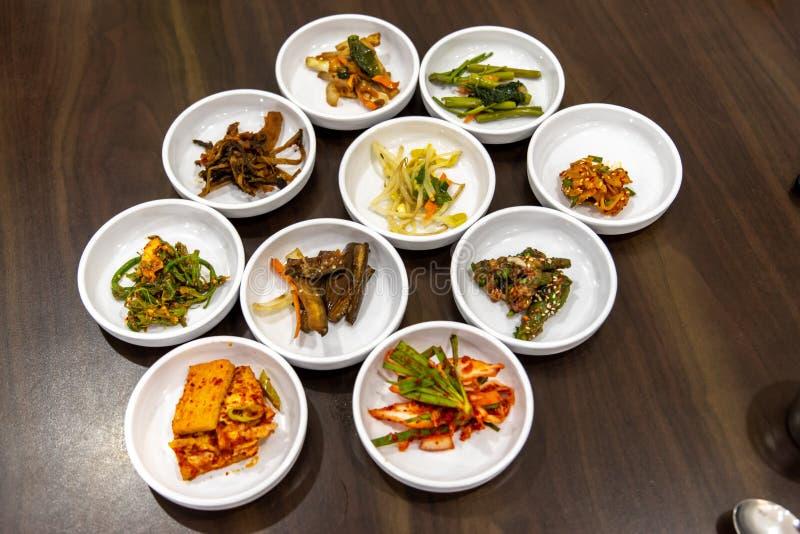 Prato lateral do estilo coreano foto de stock royalty free