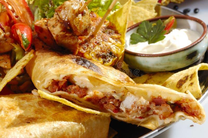 Prato mexicano do asteca da especialidade imagem de stock royalty free