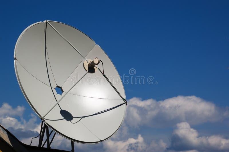 Prato satélite fotografia de stock