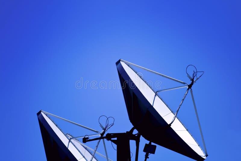 Prato satélite foto de stock royalty free