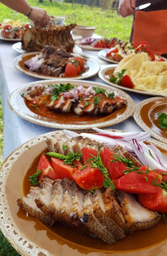 Prato tradicional do alimento de Transylvanian foto de stock royalty free