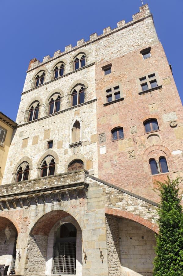 Prato (Tuscany), Palazzo Pretorio stock photos