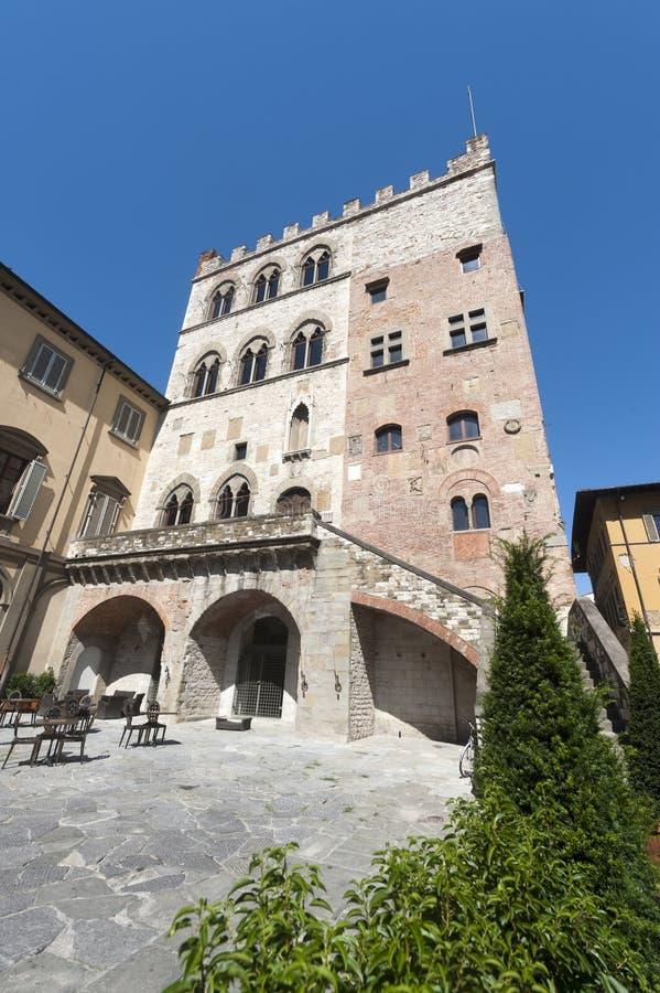 Prato (Tuscany), Palazzo Pretorio royalty free stock images