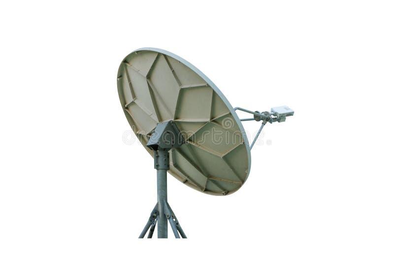 Pratos das comunicações satélites imagens de stock royalty free
