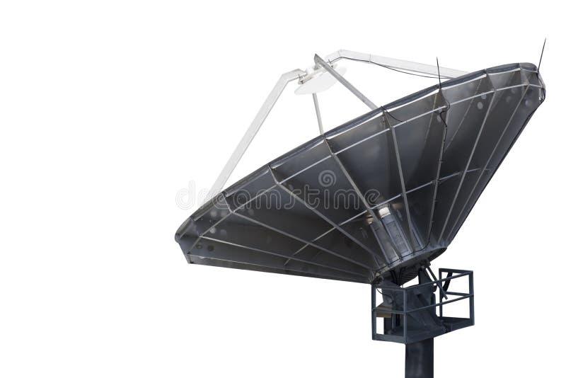 Pratos das comunicações satélites imagens de stock