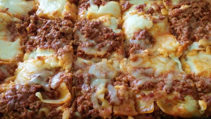 Pratos tradicionais da culinária em Itália foto de stock