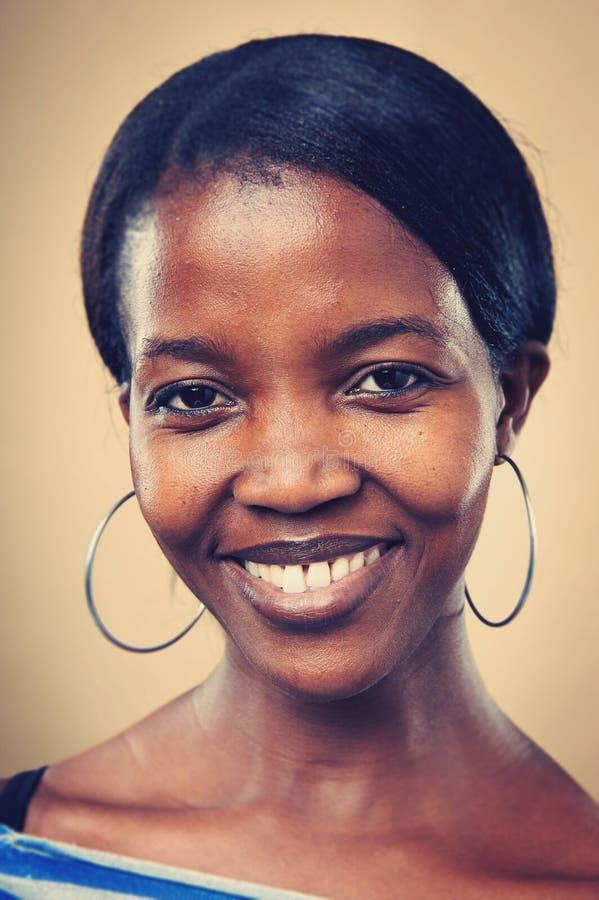 Prawdziwa kobieta portret fotografia royalty free