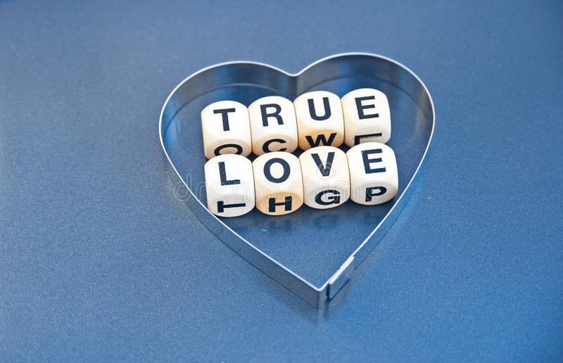 Prawdziwa miłość obraz royalty free