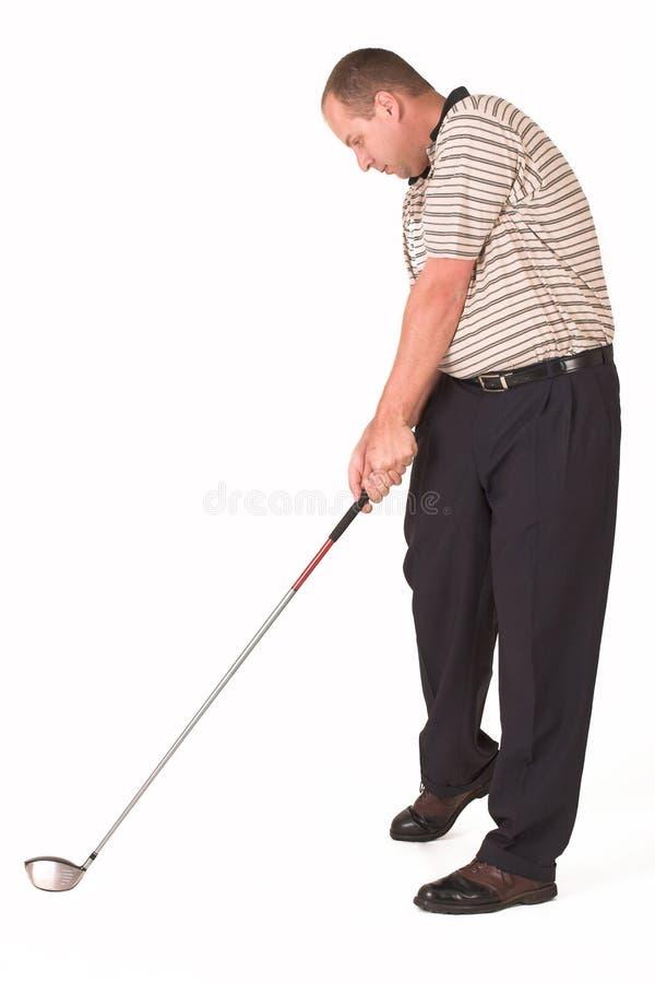 prawdziwy golfiarz 5 obraz stock