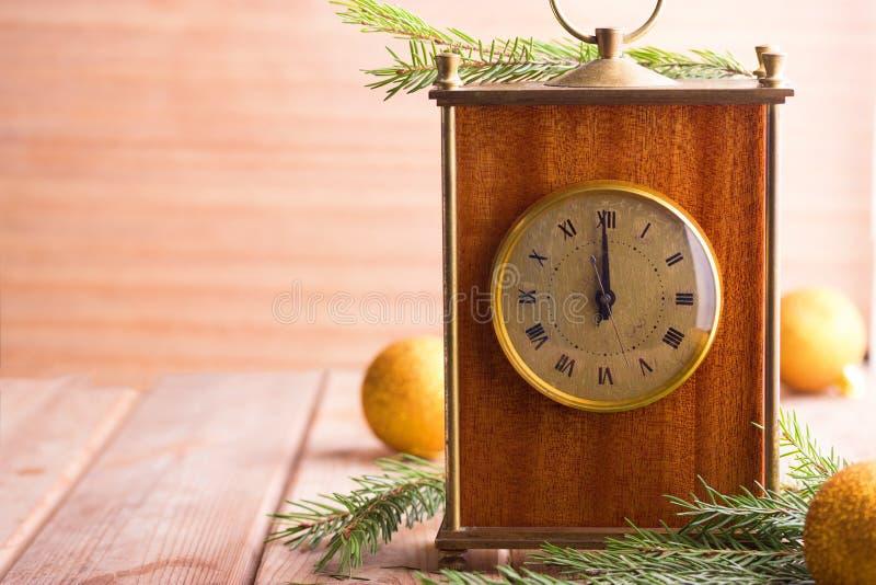 Prawie Dwanaście O ` zegaru północ zdjęcie royalty free