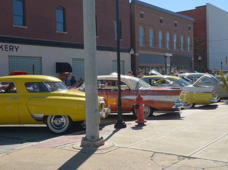 Prawie jak 1950s przy samochodowym przedstawieniem obrazy stock