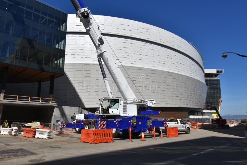 Prawie uzupełniający Golden State Warriors nowy dom, 1 zdjęcia stock
