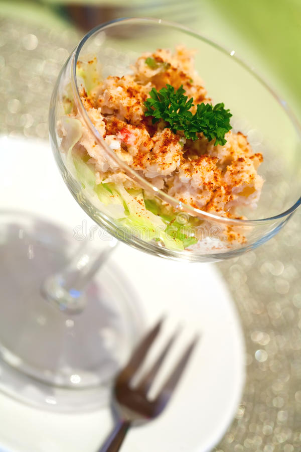 Download Prawn Cocktail stock photo. Image of cocktail, eating - 12893074
