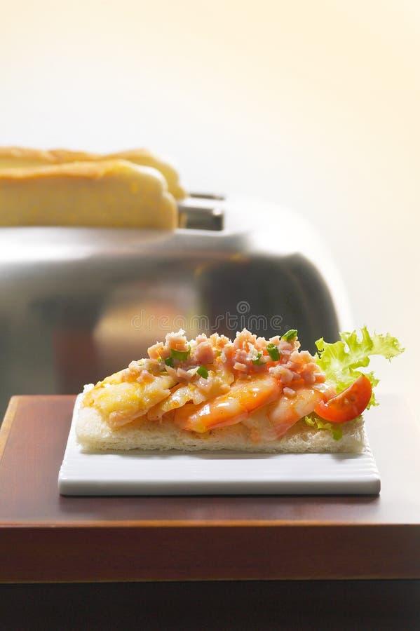 Free Prawn Sandwich Royalty Free Stock Photography - 13432077