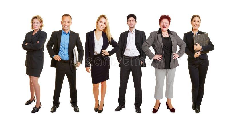 Prawnicy stoi wpólnie jako drużyna obraz stock