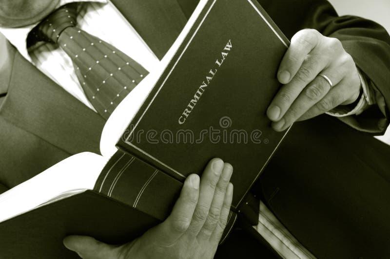 prawnik książka gospodarstwa fotografia royalty free