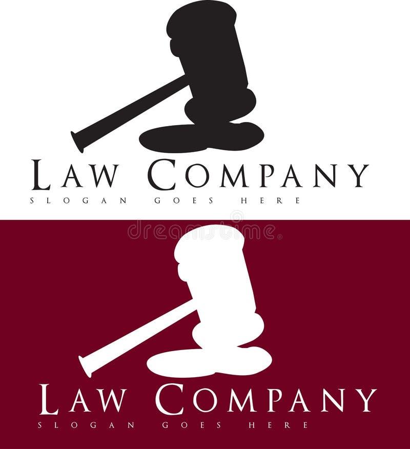 Prawnika logo ilustracji